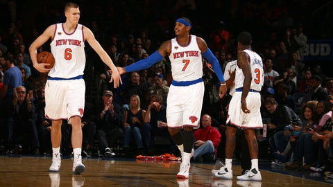 New York Knicks (2015-16: 32-50, 13th in the East)