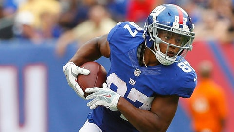 Sterling Shepard, WR, Giants (10th last week)