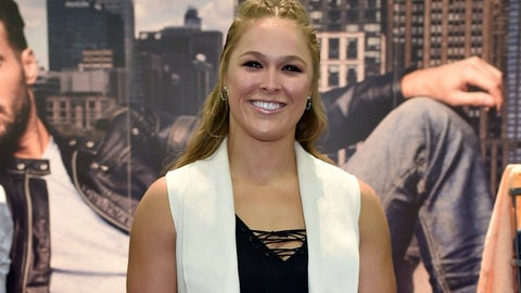 Ronda Rousey returned from the red carpet