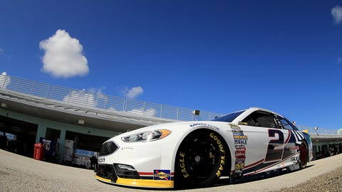 Sprint Cup testing at Homestead