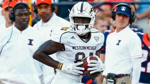 34. San Francisco 49ers: Corey Davis, WR, Western Michigan