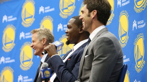 Executive of the Year: Bob Myers, Warriors
