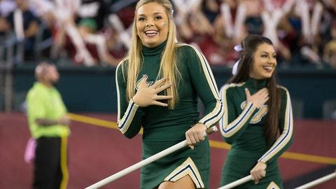 South Florida cheerleaders
