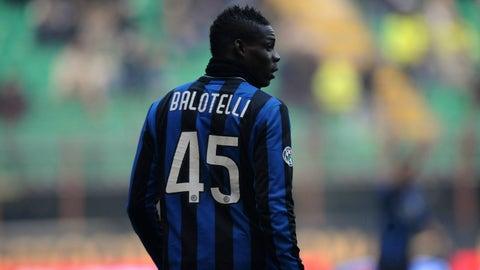 2010: Mario Balotelli