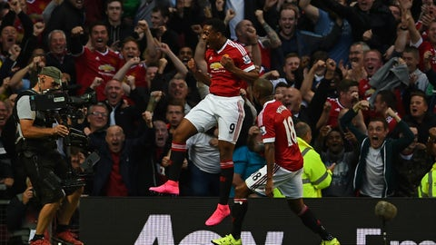 2015: Anthony Martial