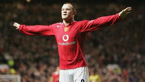 2004: Wayne Rooney