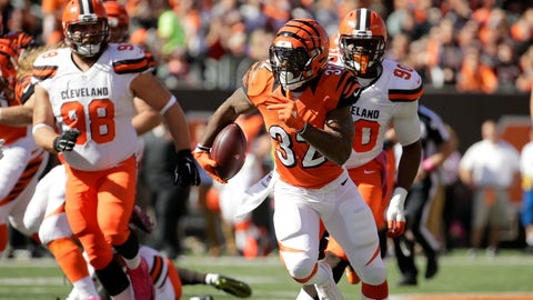 Browns 31, Bengals 17