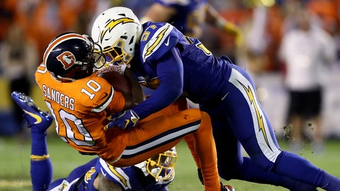 Sunday: Chargers at Broncos