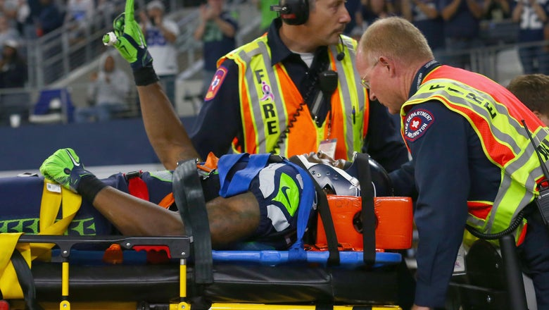 Former Seahawks WR shares tearful reunion with paramedics who saved his life