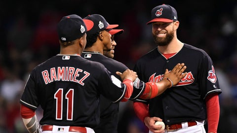 Get another gem from Corey Kluber
