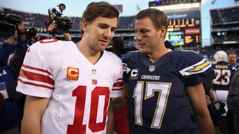 October 8: Los Angeles Chargers at New York Giants, 1 p.m. ET