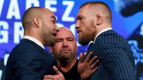 Eddie Alvarez vs. Conor McGregor -- UFC 205