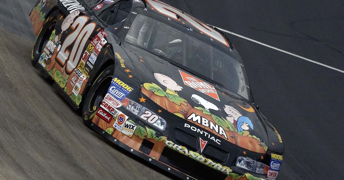 Halloween Themed Nascar Paint Schemes Through The Years