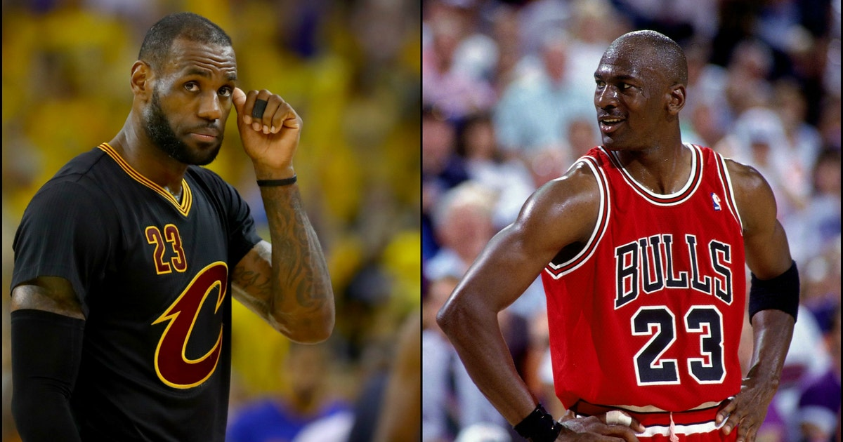 After another NBA Finals loss, LeBron James can never surpass Michael Jordan as the GOAT | FOX ...