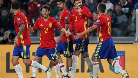 Spain (Previously No. 11)
