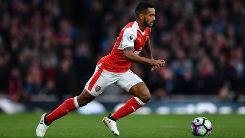 11. Theo Walcott, Arsenal (tie)