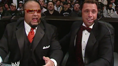 Taz (and Jim Ross) were commentators
