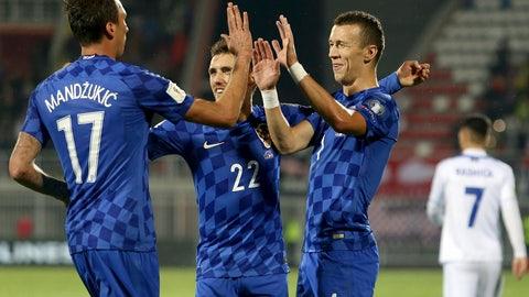 Croatia (Previously No. 14)