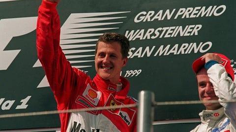 Schumacher gets a win