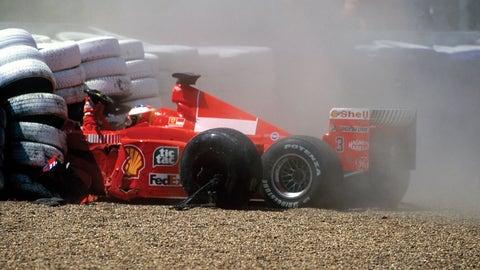 Schumacher out