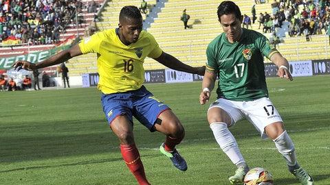 Ecuador (Previously No. 19)