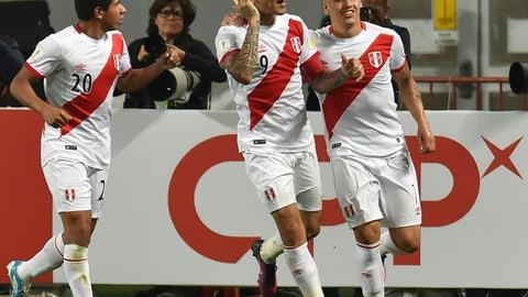 Peru (Previously No. 25)