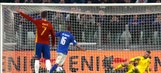 De Rossi levels it from the spot to make it 1-1 vs. Spain | 2016 European Qualifiers