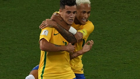 Brazil (Previously tied with Colombia at No. 4)