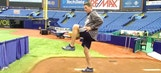 Rays pitching coach Jim Hickey details the ideal leg lift
