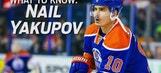 Get to know new Blues forward Nail Yakupov