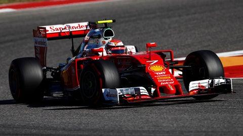 5. Kimi Raikkonen (Ferrari)