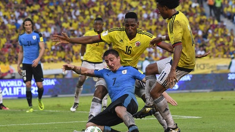 Colombia (Previously tied with Brazil at No. 4)