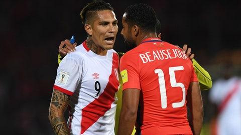Chile (Previously No. 6)