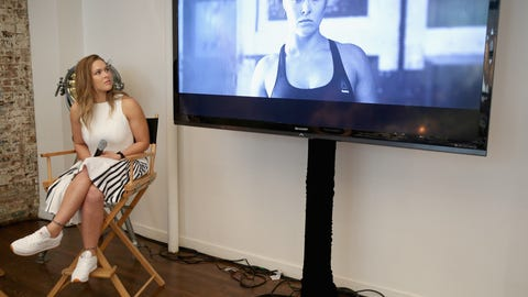 July 12: Rousey launches her #PerfectNever campaign