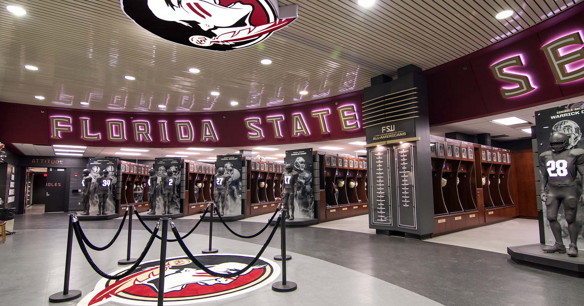 The 15 Most Jaw Dropping College Football Locker Rooms