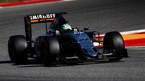 7. Nico Hulkenberg (Force India)