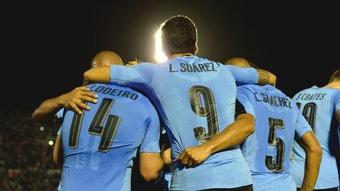 Uruguay (Previously No. 9)