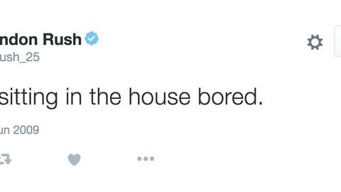 Brandon Rush is tired of this boring-ass house