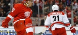 Hurricanes LIVE To Go: Canes fall to Red Wings 4-2 in final visit to Joe Louis Arena