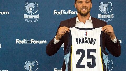 Memphis Grizzlies: Chandler Parsons, SF