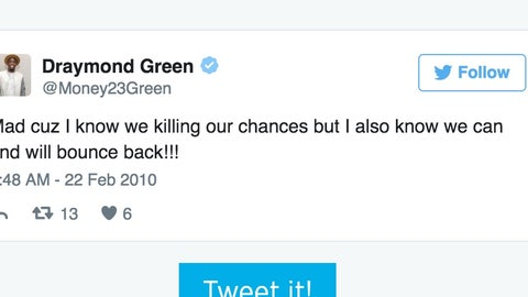 Draymond Green killing chances