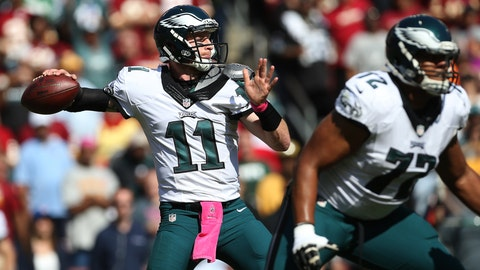 Eagles: Continue Carson Wentz's development
