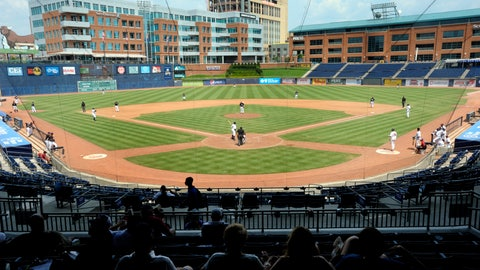 Hit up a minor-league baseball game