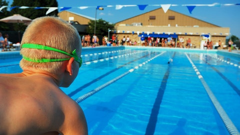 Watch your young child (or a niece or nephew) play a game or compete in a meet
