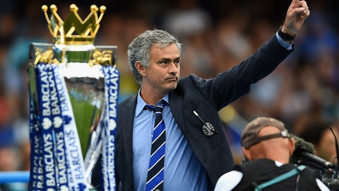 Cheer: He's Chelsea's best-ever manager