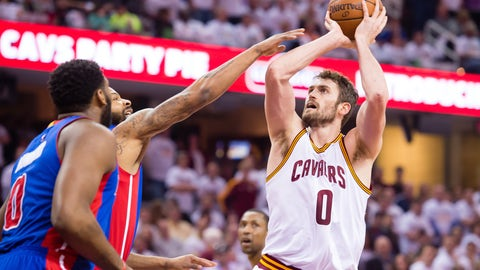 Kevin Love is no longer an enigma