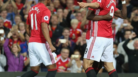 Can Zlatan Ibrahimovic and Anthony Martial prey on Liverpool's defense?