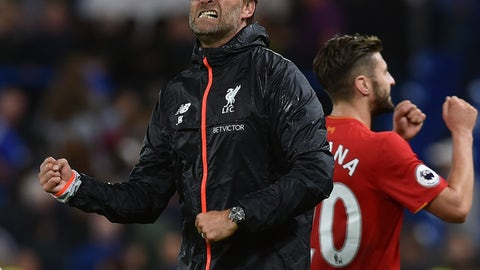 Will Jurgen Klopp spontaneously combust on the sideline?