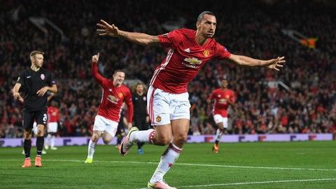 Zlatan Ibrahimovic - Paris Saint-Germain/Manchester United