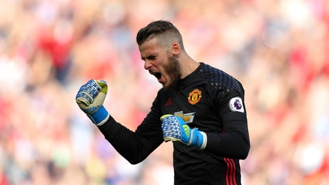 There's no question that David De Gea is still one of the best goalkeepers in the world